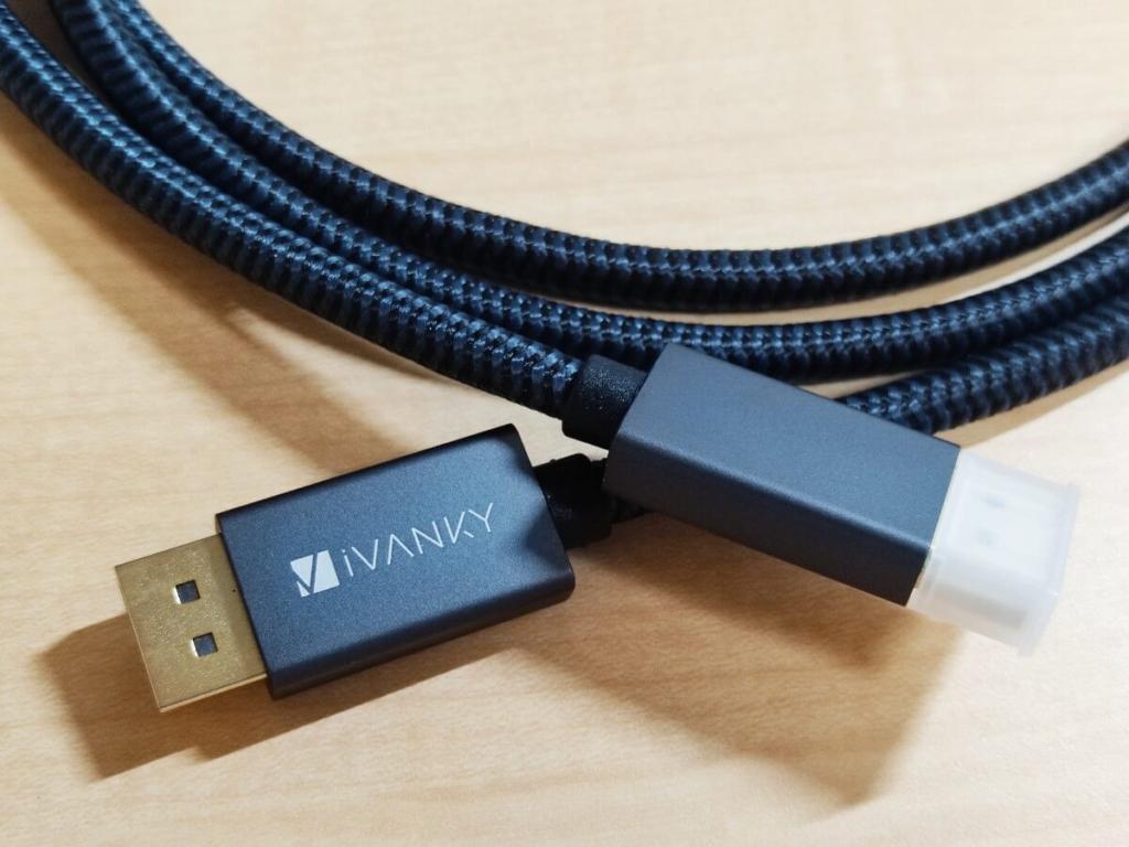 iVanky DPケーブル Display Port ケーブル