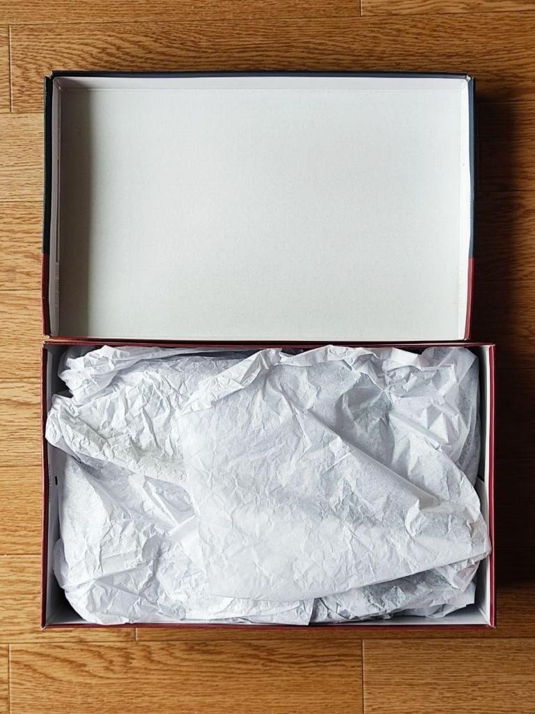 テクシーリュクス(texy luxe)製品箱